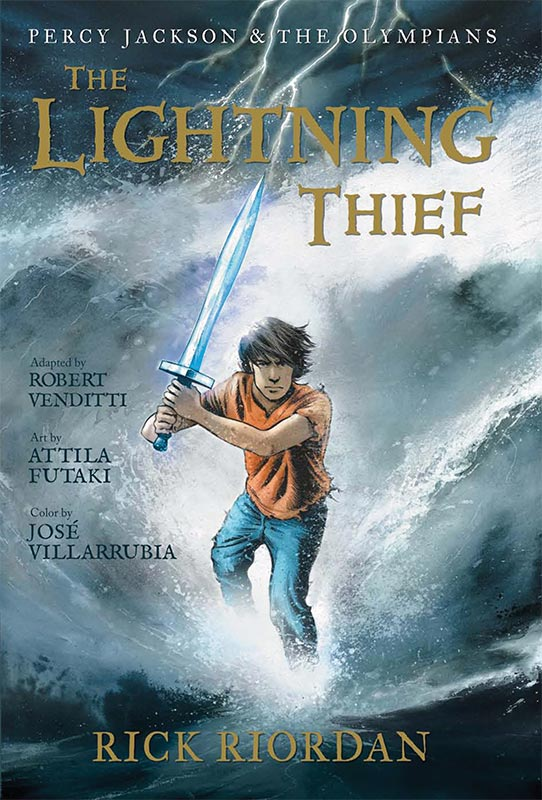 Outside Of A Dog Quickie Review The Lightning Thief The Graphic Novel