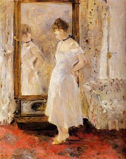 """Berthe Morisot """"Allo specchio"""""""