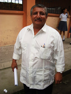 Tecnólogo Leonel Pinargote - Presidente del Comité de Padres de Familia