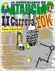 II Carrera 10k  40 Aniversario ATAUCLA