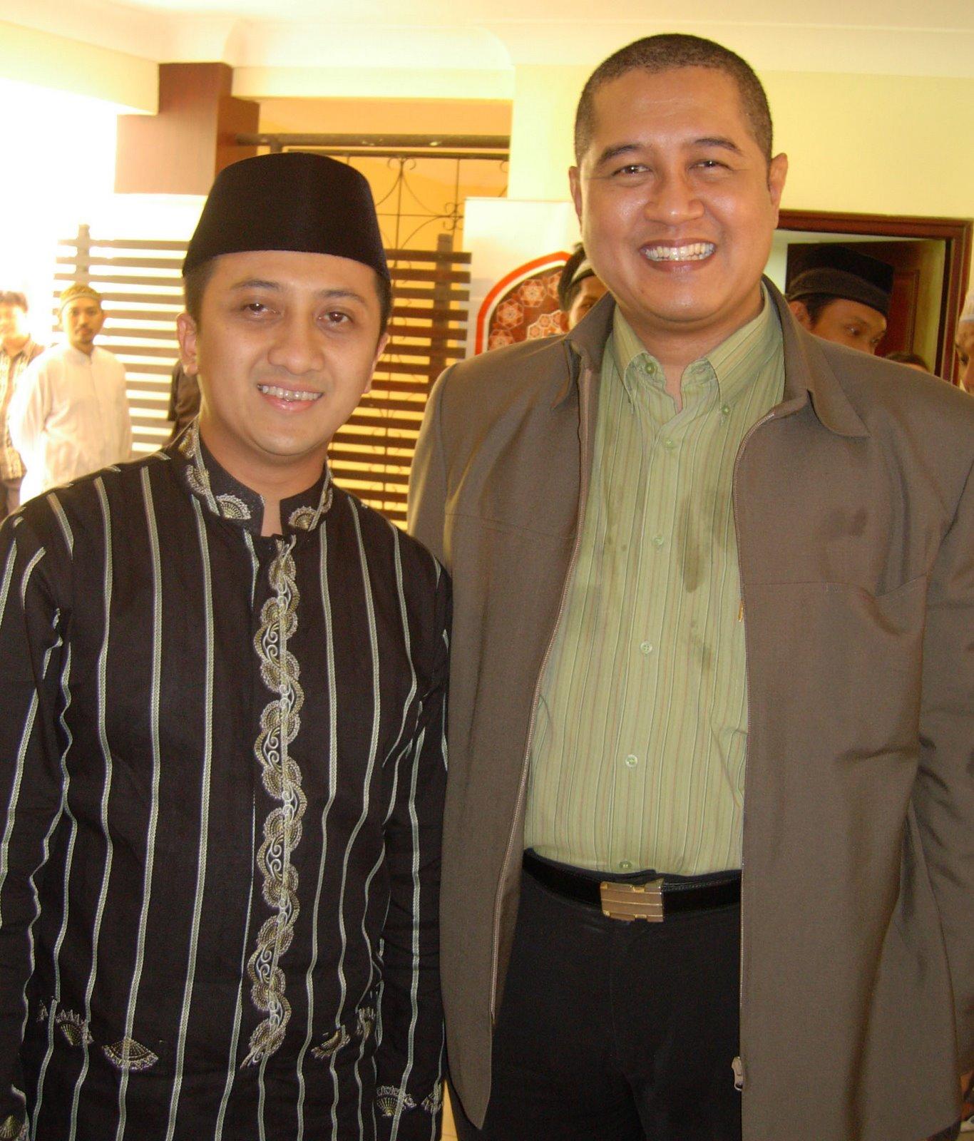 Saya dan Ust. Yusuf Mansur (