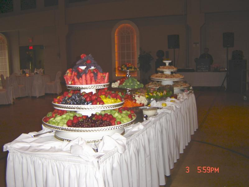 wedding buffet table decorating ideas photograph source of