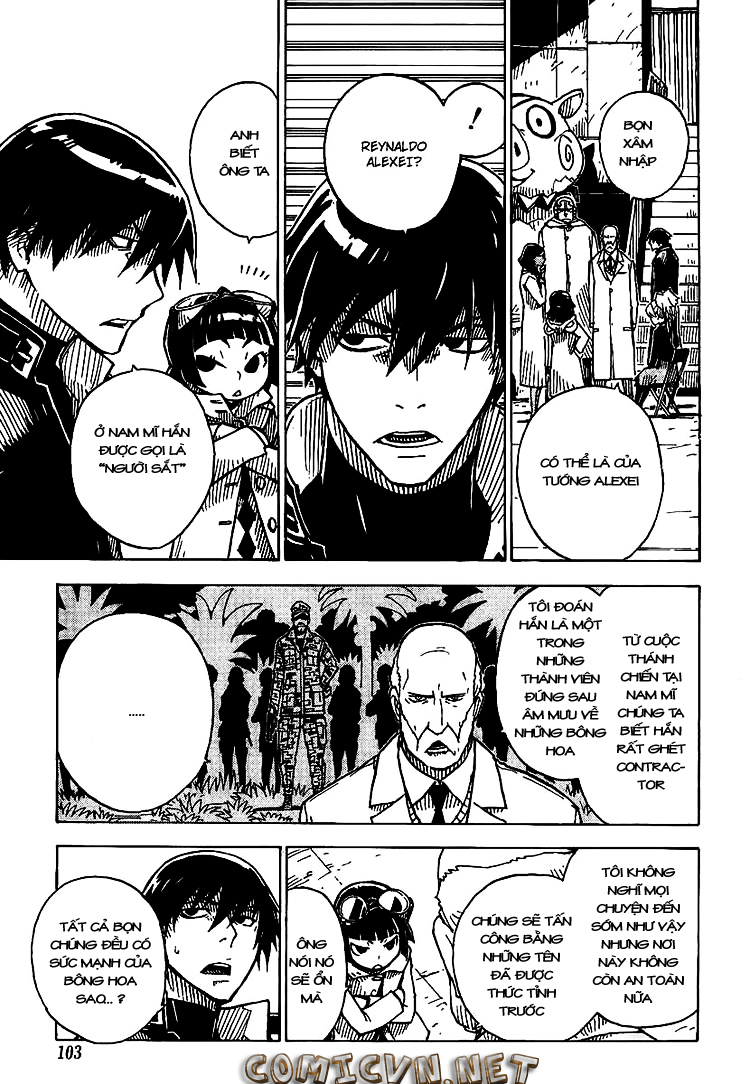 Darker Than Black: Shikkoku no Hana: Chapter 19