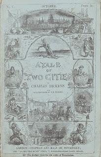 غلاف رواية قصة مدينتين للروائي الإنجليزي تشارلز ديكنز