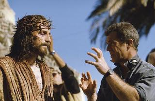 اثناء اخراج فيلم اللام المسيح