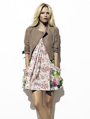 moda floral de H&M