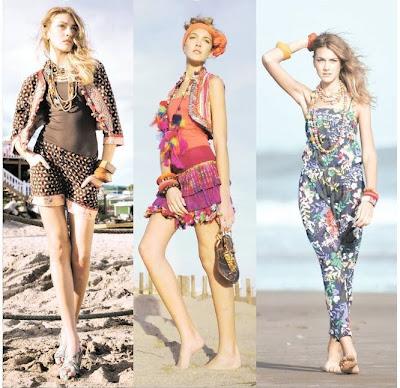 vestidos playeros verano 2010