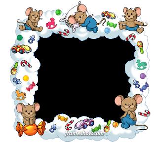 marco para fotos infantiles