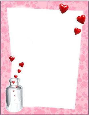 Tarjetas y postales de Amor : Marcos de amor para fotos