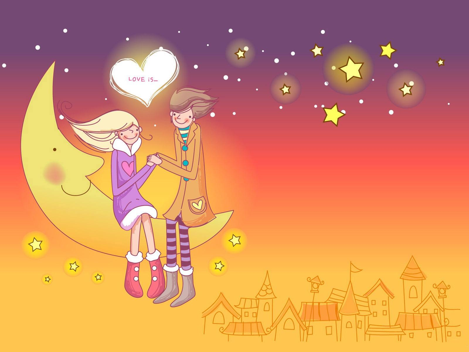 Tarjetas y postales de Amor: Wallpapers de amor