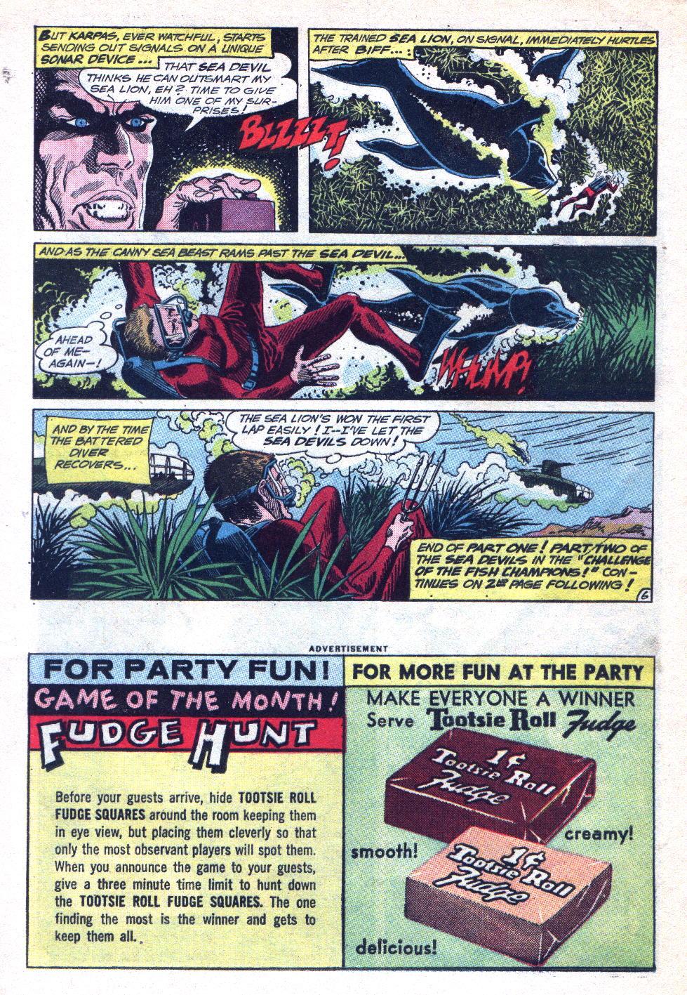 Read online Sea Devils comic -  Issue #14 - 24