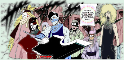 Naruto 523 - Seven Swordsmen of the Mist
