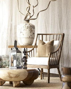 Margrit 39 s blog creme bruin hout tinten in huis for Wit landelijk interieur