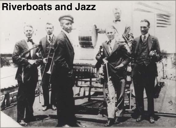 Riverboats and jazz