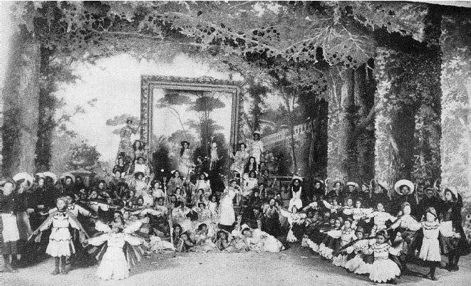 """LAS ESTACIONES ANIMADAS. CUADRO """"EL OTOÑO"""" 1908"""