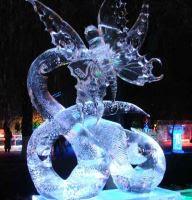 Sculpture sur glace (partie 1)