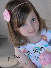 Ric Rac Rose Bows