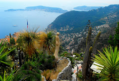 view from atop Eze