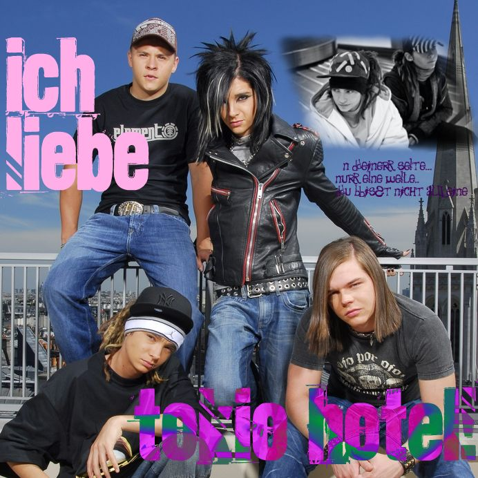 Bill, Tom, Paula, Maria y Tokio Hotel!!!!!!!