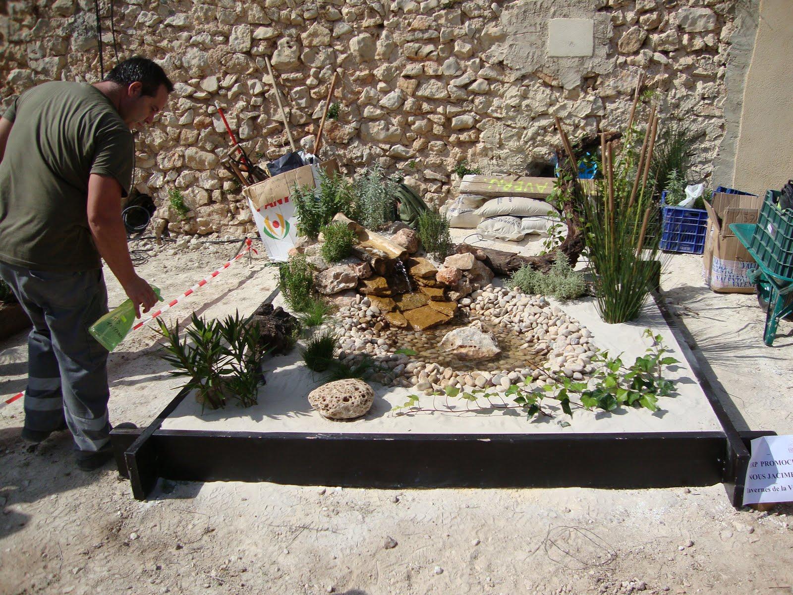 Formajardin concurso de jardiner a en expoetcote 2010 - Jardineria en valencia ...