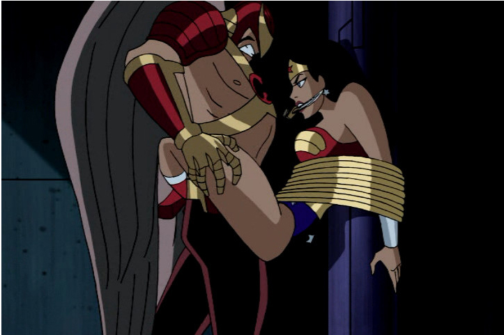 The Wonder woman captive and in bondage images for