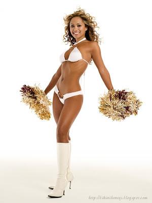 Anabel Dela Cerna Bikini Cheerleader Pics 6