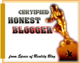 Certified Honest Blogger