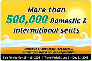 Cebu Pacific Zero Fare Promo