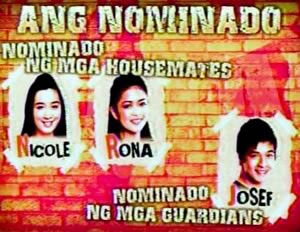 Josef, Nikki, and Rona are nominated for the PBB 5th nomination night