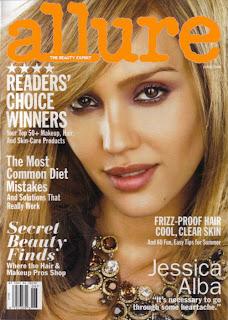 Jessica Alba Nude Pics Allure Magazine June 2008 Covergirl