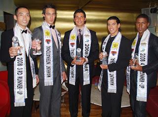 Manhunt International 2008 Winners