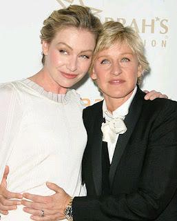 Ellen DeGeneres & Portia de Rossi Wedding Pics