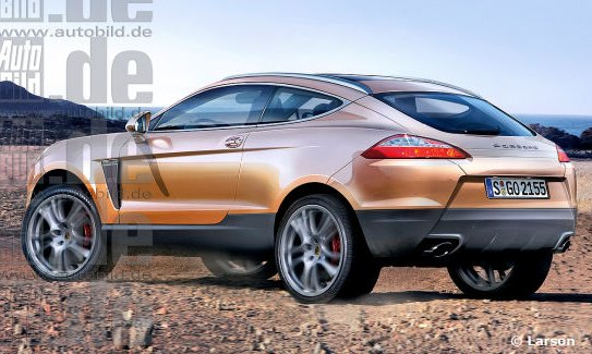 According To The Magazine Baby Cayenne Will Share Its Components With Audi Q5 But Feature Smaller Wheelbase Shorter Overhangs Both On Front
