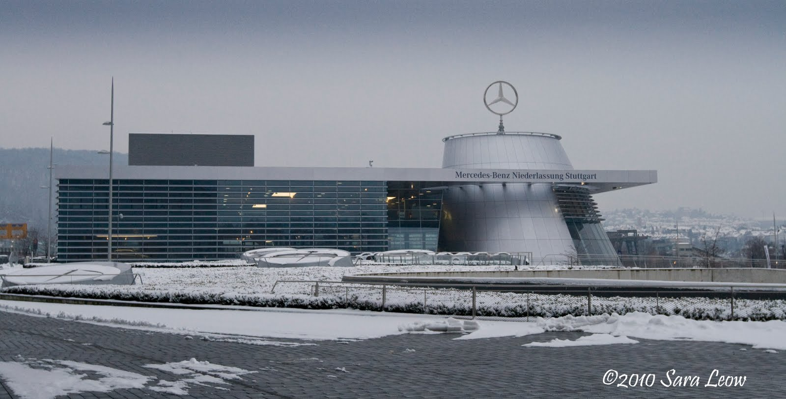 Mercedes benz headquarters for Mercedes benz north america headquarters