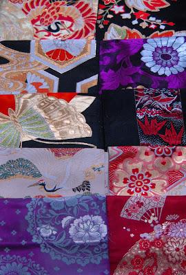 kimono obi fabric