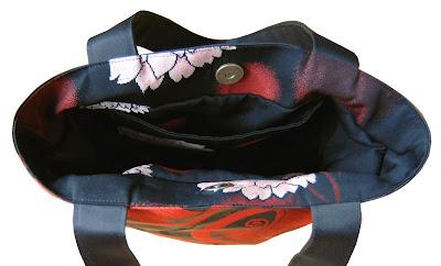 kimono obi bag handbag