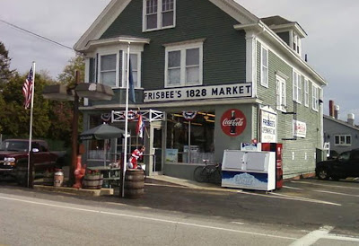 Frisbee Market Kittery Point Maine convencience store route 103 bicycle bike cycling local portsmouth