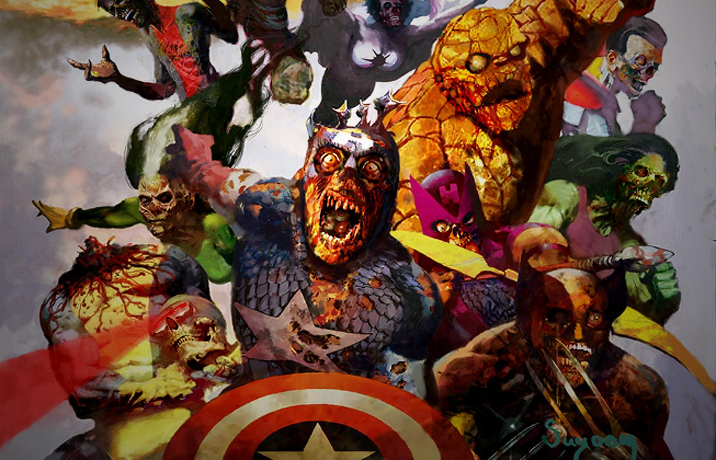 Looking back marvel zombies a review of the start of the madness