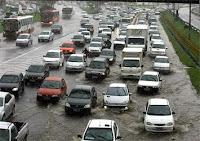 Chuva provoca aos em Salvador
