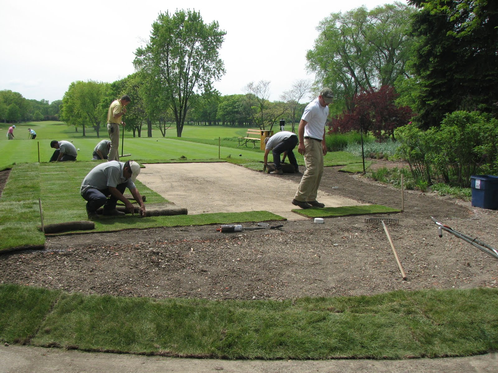 skokie country club golf course management seven weeks and counting