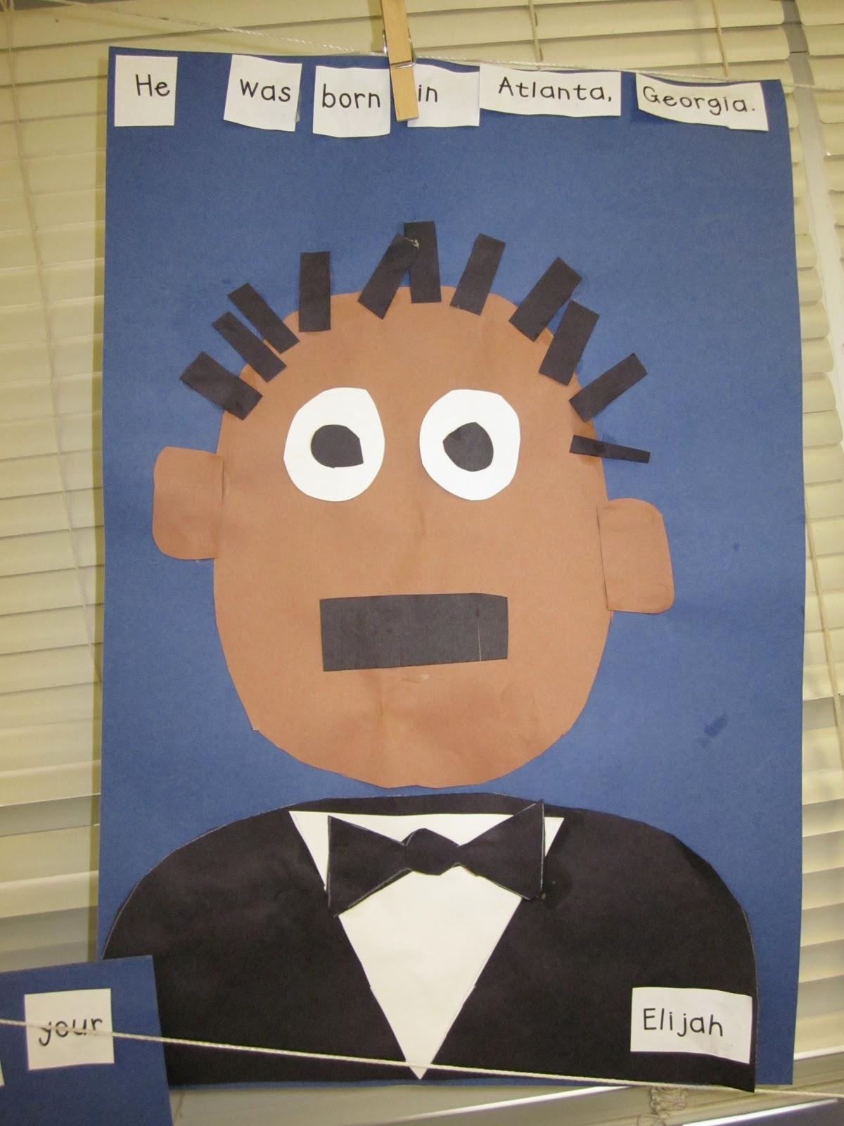 Martin Luther King Bulletin Board Kindergarten Www Topsimages Com