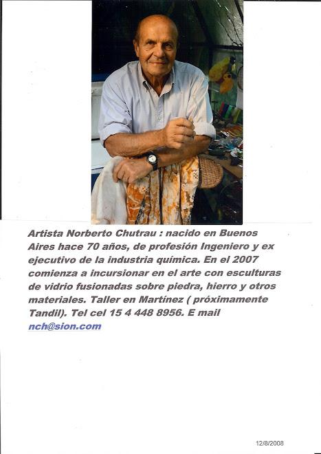 curriculum Norberto Chutrau