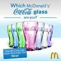 McDONALD's Coca-cola GLASSES (2nd Quarter 2009)