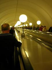 La station de métro la plus profonde