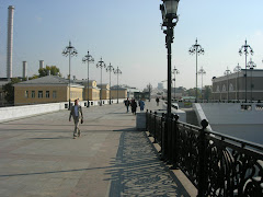 Nouvelle partie du pont allant à la cathédrale Saint Sauveur