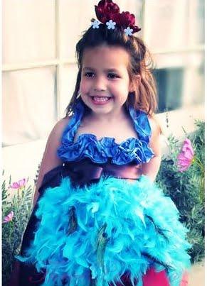 Beautiful Baby Blue Peacock Dress,Buy cheap Beautiful Baby Blue