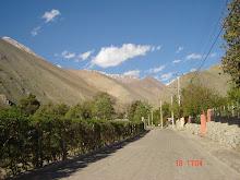 Tipica calle del Valle de Elqui