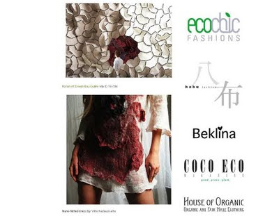 Ethical Fashion Companies on Doan Editor Of The Ethical Fashion And Art Blog E C C O E C O Has
