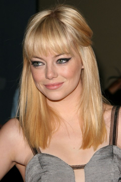 emma stone blonde hair. house emma stone blonde hair.
