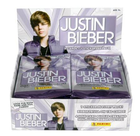 Justin Bieber Items on Justin Bieber To Release Trading Cards